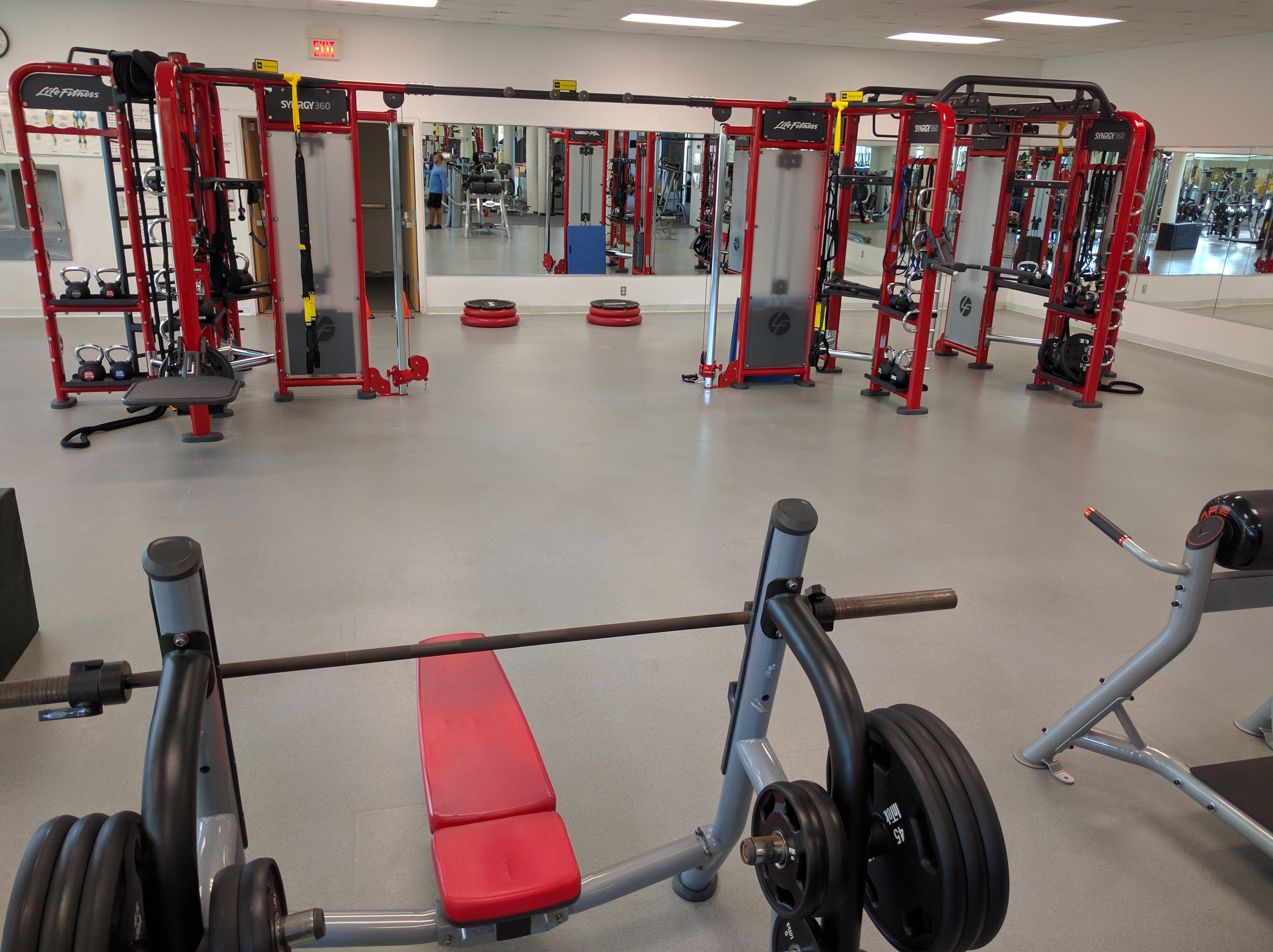 June 24th: LifeFitness Synrgy Completed