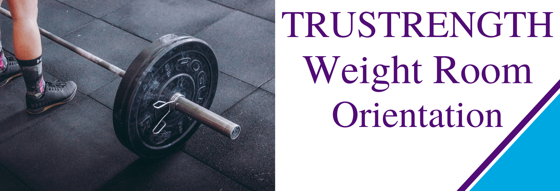Learn to use the weight room equipment.